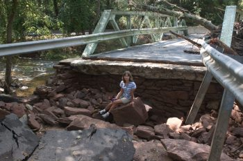 Bridge Washed Out