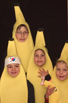 Neighborhood Kids Go Bananas!