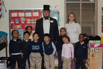 Abe Lincoln and the Kindergarten Class