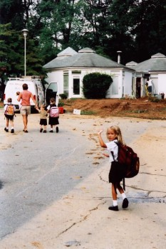 First Day of School, First Grade (2002)