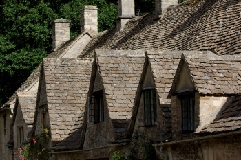 Arlington Row, Bibury, in the Cotswolds