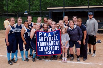 W.C.A - The P.V.A.C. Softball Tournament Champions, 2014