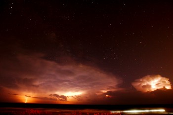 Thunderstorm and Stars