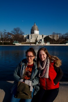 Dorothy and Karlee At The U.S. Capitol