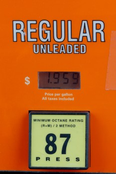 Gasoline, $1.959 per Gallon