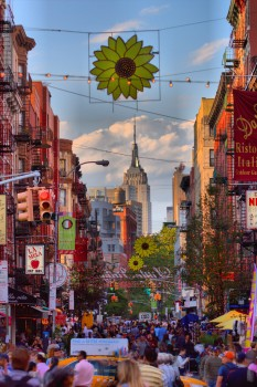 Little Italy and the Empire State Building