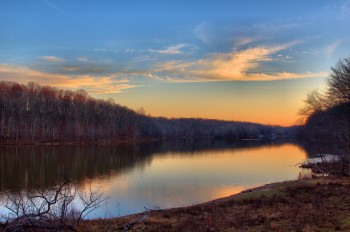Lake Needwood at Dusk