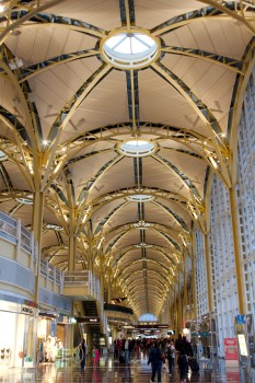 Reagan National Airport's Vaulted Ceiling