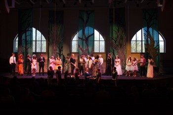 The Cast and Crew - A Midsummer Night's Dream