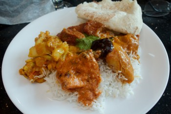 Mothers Day Meal at Bombay Bistro