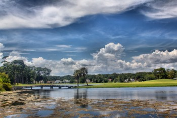 Dramatic Sky, Alligator Pond