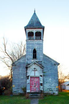 Dilapidated Church