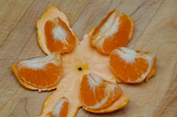 Pealed Clementine