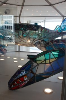 Blue Crab Sculpture, BWI Airport