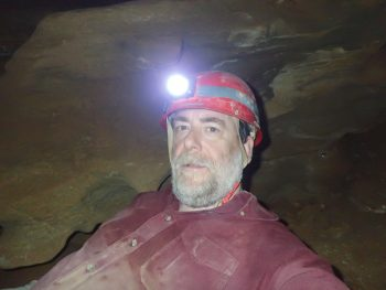 Self Portrait, Hamilton Cave