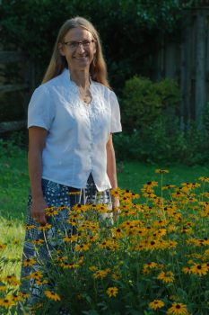 Cathy and Black-eyed Susans