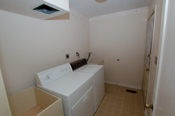 Laundry Room, Before