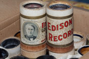 Edison Phonograph Records