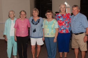 Catherine, Dot, Mary Ellen, Anne, LaClaire, and Glenn
