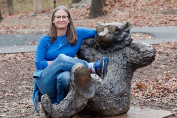Cathy and Bear