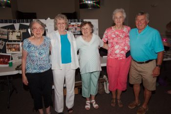 The Cousins: Dot, Mary Ellen, Ann, LaClaire, and Glenn