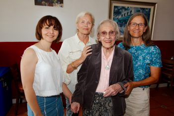 Ellie, Mimi, Margaret, and Cathy