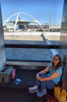 Cathy at LAX