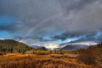 Rainbow Over Mendenhall