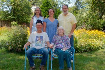 Cathy, Dorothy, Henry, Jim, and Margaret